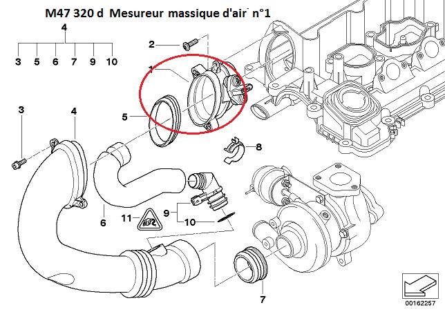 [ BMW E46 320D M47 an 2000 ] Moteur cale au ralenti (Abandonné ) 13_e4610