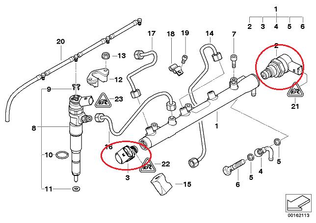 [ bmw E46 318D compact an 2003 ] problème de démarrage à chaud 13_e4613