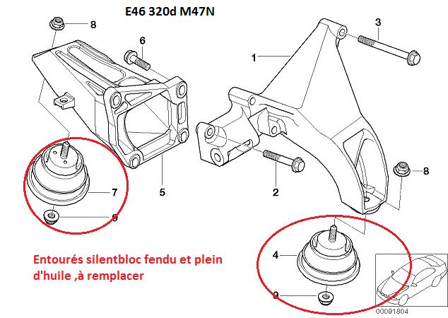 [ bmw e46 320d M47 an 2003 ] Problème tremblement et odeur ( Abandonné ) 22_m4610