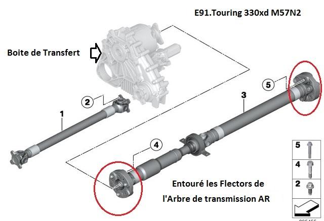 [ BMW e91 330XD an 2007 ] Bruit transmission Clong-Clong-Clong 26_fle10