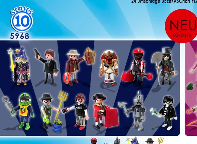 [Playmobil] Playmobil Minifigures Serie /  Mystery Figure !  - Page 2 Playmo10