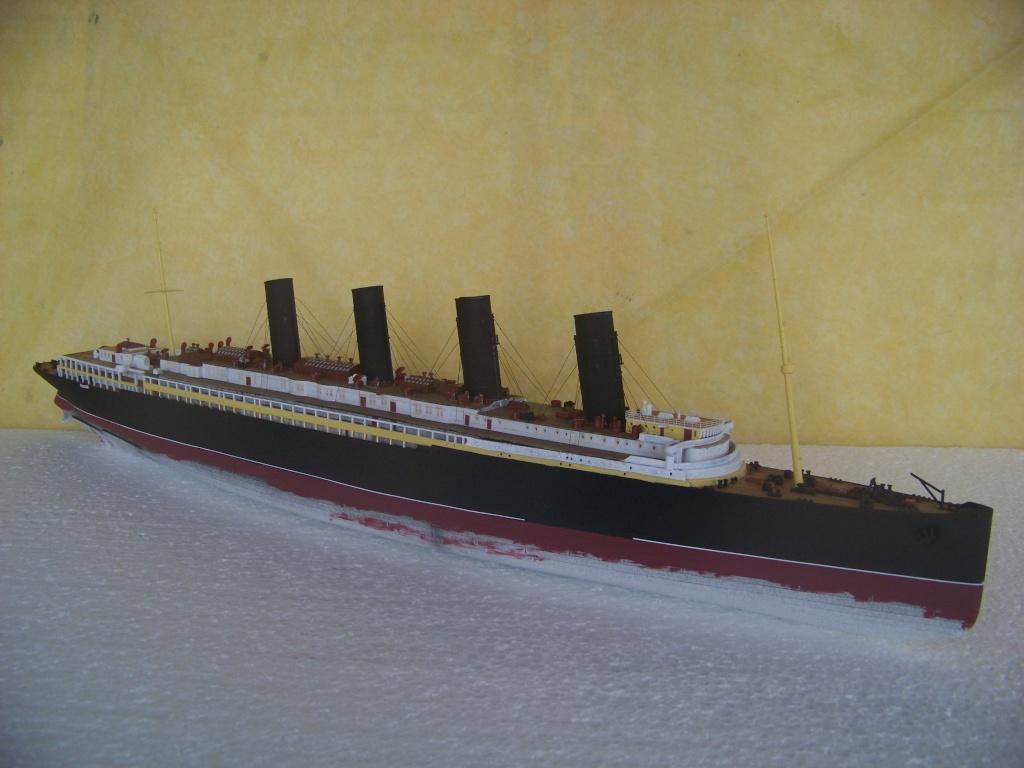 Diorama du torpillage du RMS Lusitania 1/350 Gunze Sangyo 100_9210