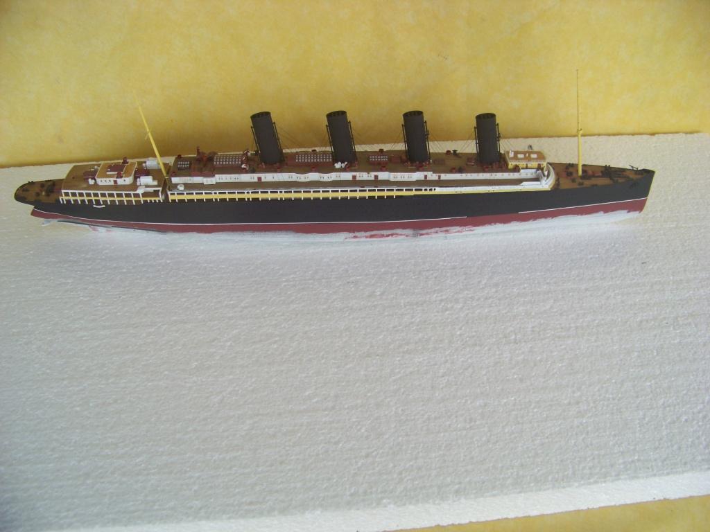 Diorama du torpillage du RMS Lusitania 1/350 Gunze Sangyo 100_9211