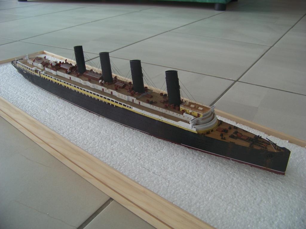 Diorama du torpillage du RMS Lusitania 1/350 Gunze Sangyo 100_9215