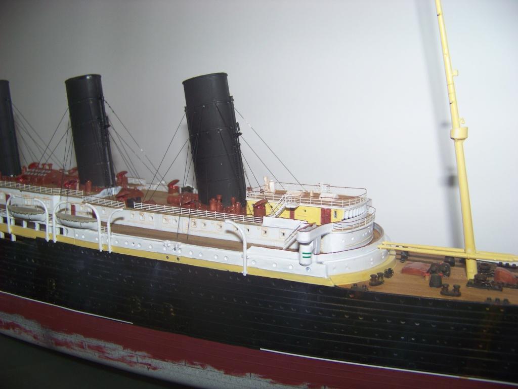 Diorama du torpillage du RMS Lusitania 1/350 Gunze Sangyo 100_9221
