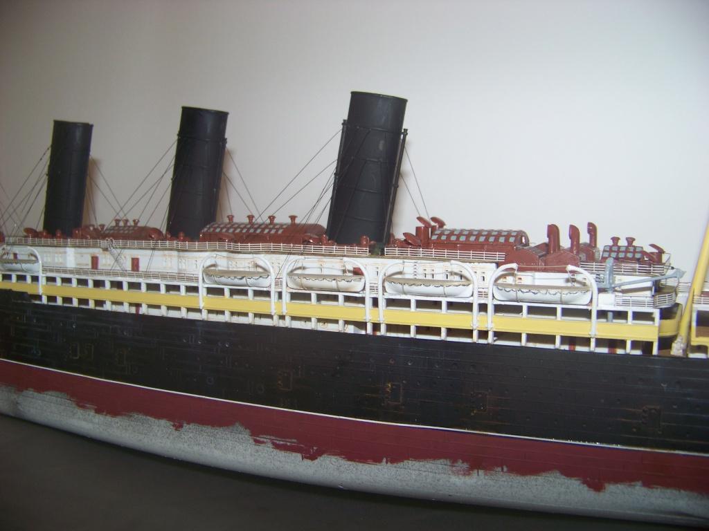 Diorama du torpillage du RMS Lusitania 1/350 Gunze Sangyo 100_9223