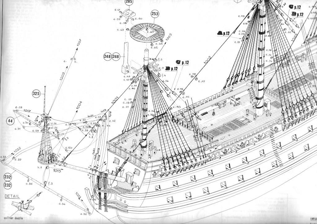 Problème de notice - HMS Victory HELLER 1/100 Plan_s10