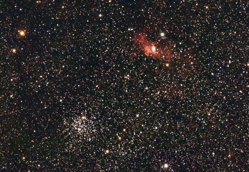 NGC 7635 et M 52 Ngc76311