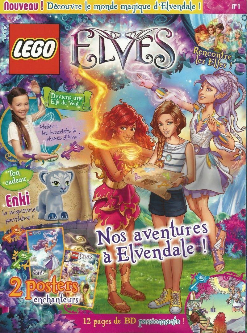 Redécouvrez le magazine Lego Elves N°1 Magelv10