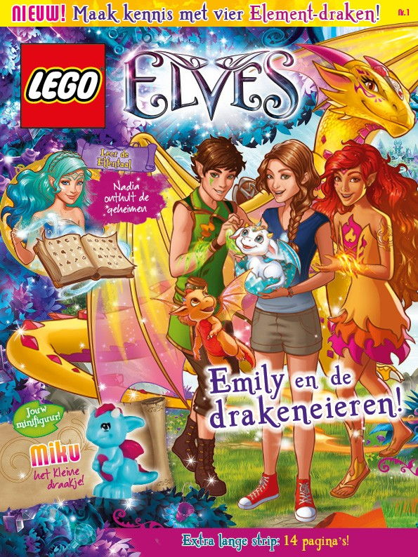 Le magazine trimestriel LEGO Elves Riu-or10
