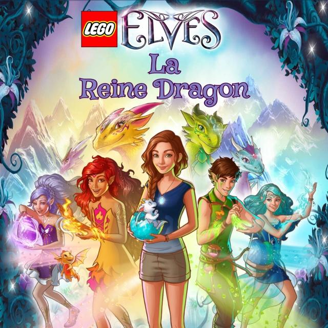 La BD la Reine dragon LEGO® Elves Titre10