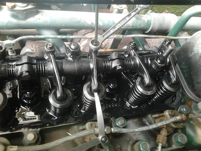 réglage jeux de soupapes moteur MK520 Photo322