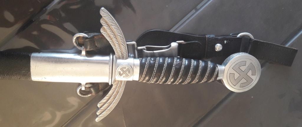 Epée de la Luftwaffe (second modèle) - SMF 20190513