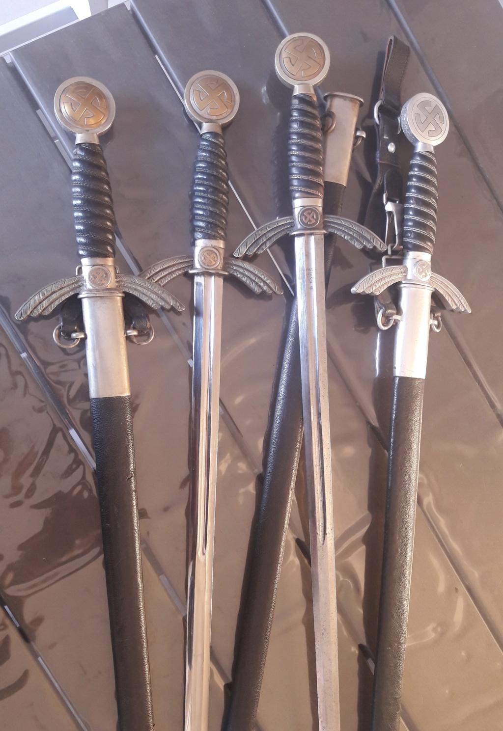 Epée de la Luftwaffe (second modèle) - SMF 20190514