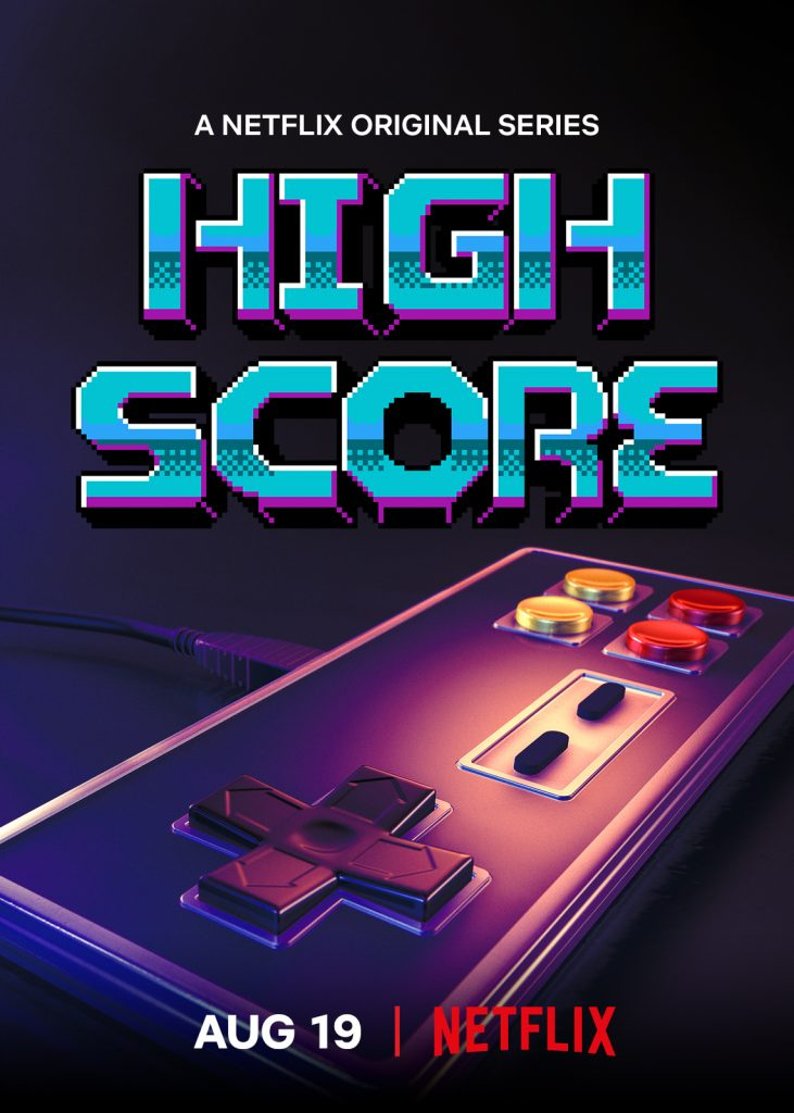 High Score : L'âge d'or du gaming sur Netflix Netfli10