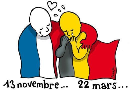 soutien amical à nos amis belges,apres les attentats de Bruxelle Attent10