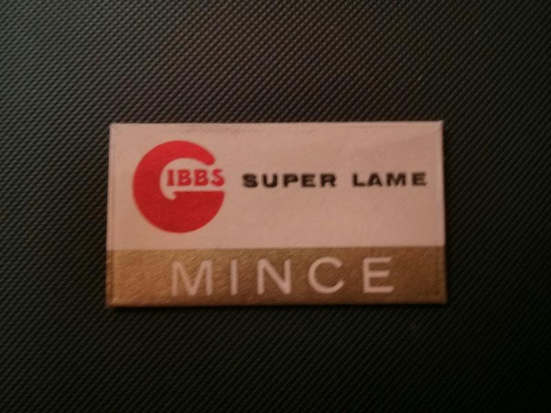 Lames de rasoir GIBBS et produits de la marque Lame_g10
