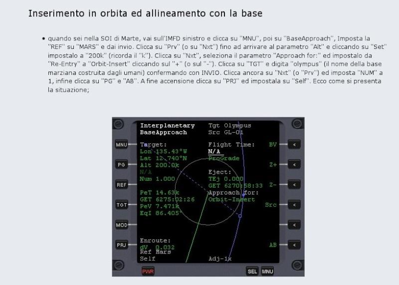 [Risolto]come allinearsi con ISS proveniendo dall'esterno? Info110
