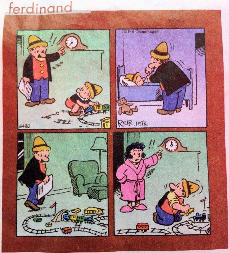 Humour : petit train du fils, petit train du père Humour10