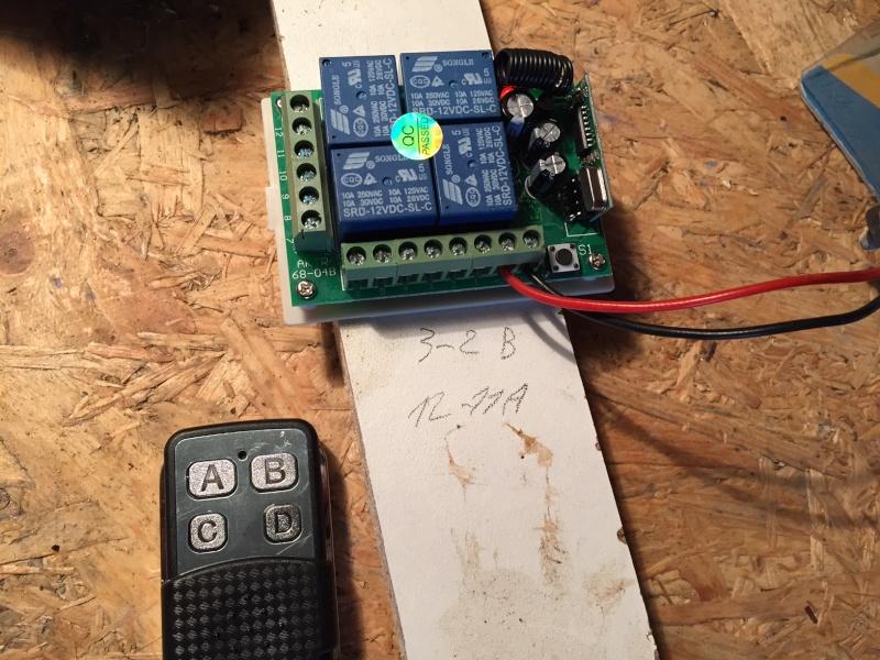 mettre une telecommande radio sur un treuil 220 avec commande a fil Comman11