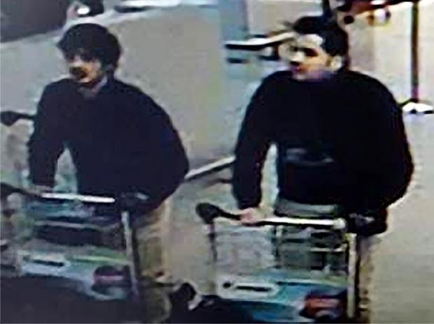 Attentats de Bruxelles: deux kamikazes identifiés, le 3ème homme serait Najim Laachraoui 333310