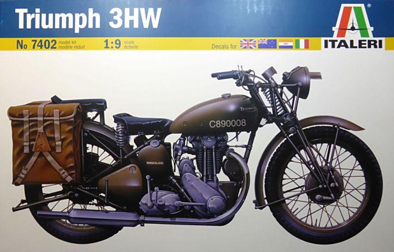 wla 750 1/9 italeri Harley Davidson   Triump10