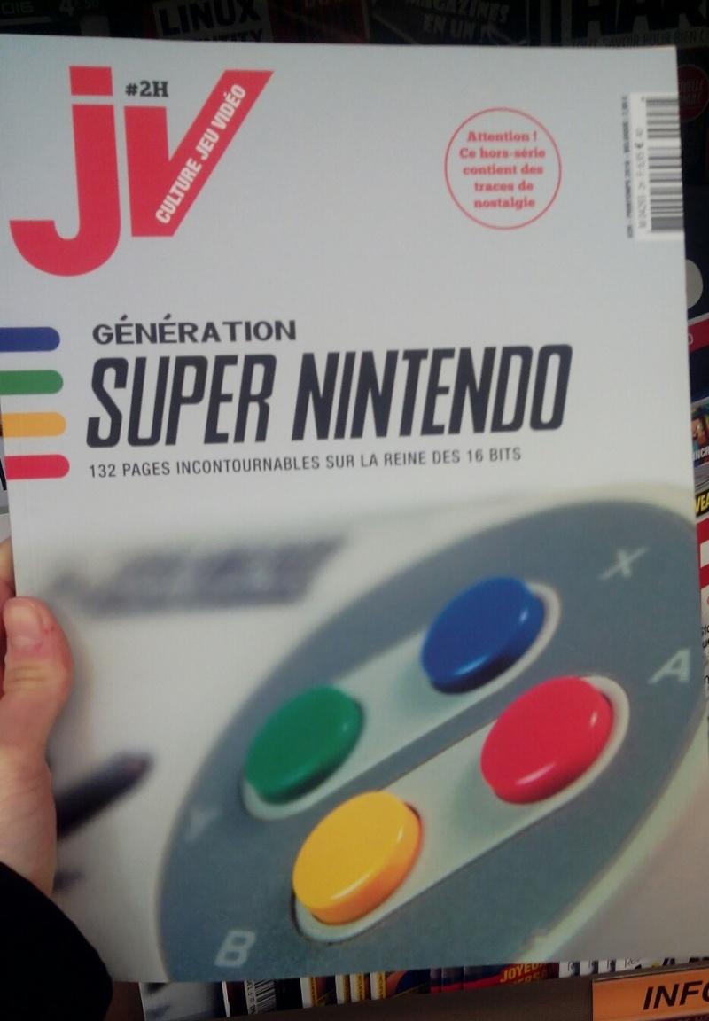 """[offert] JV le mag Hors série """"Génération Super Nintendo"""" (MAJ) 24810"""