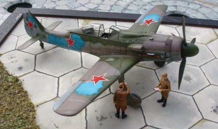 Aterrissage 190 D9 1/32 REVELL Dsc05110