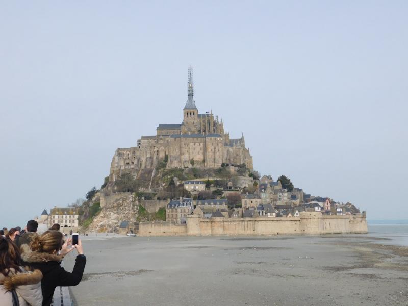 Michelle au ... Mont Saint-Michel Dscn0510
