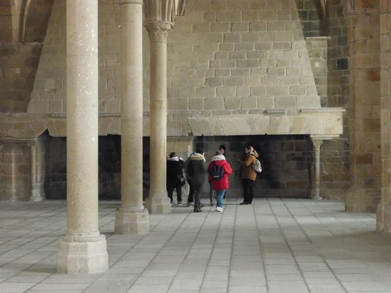 Michelle au ... Mont Saint-Michel Dscn0524