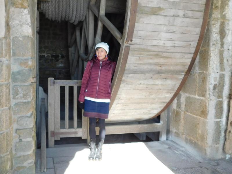 Michelle au ... Mont Saint-Michel Rscn0510