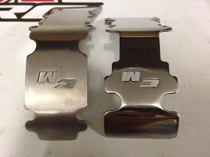 Titanium skids 12417910
