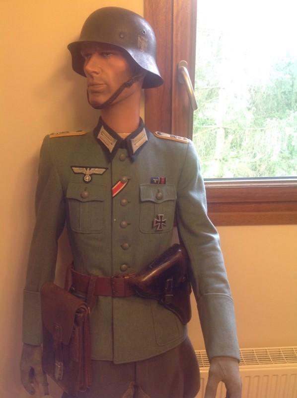Major artillerie et leutnant cavalerie 110