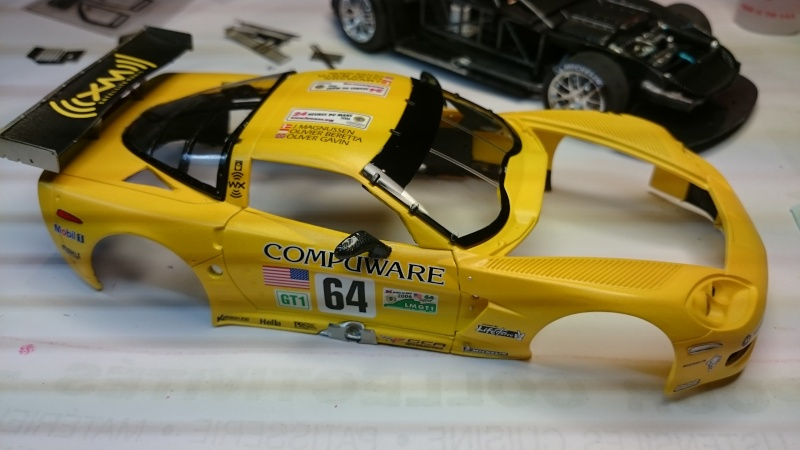 CORVETTE C6R COMPUWARE LE MANS 2006 LMGT1 CLASS WINNER REVELL ET SCALE MOTORSPORTS Dsc_3112