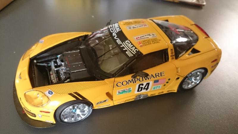 CORVETTE C6R COMPUWARE LE MANS 2006 LMGT1 CLASS WINNER REVELL ET SCALE MOTORSPORTS Dsc_3113