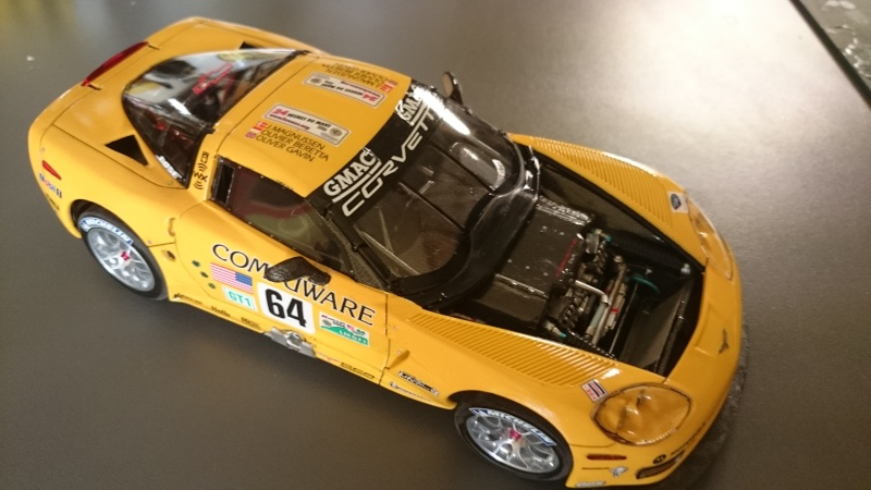 CORVETTE C6R COMPUWARE LE MANS 2006 LMGT1 CLASS WINNER REVELL ET SCALE MOTORSPORTS Dsc_3114