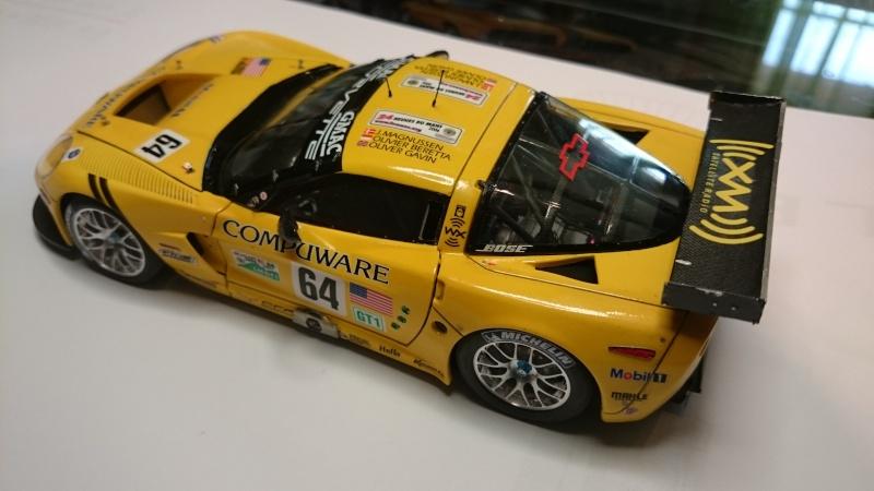 CORVETTE C6R COMPUWARE LE MANS 2006 LMGT1 CLASS WINNER REVELL ET SCALE MOTORSPORTS Dsc_3116