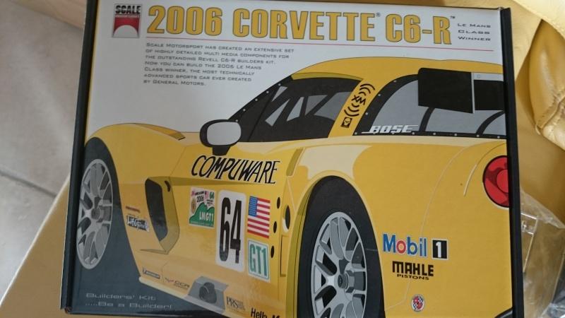 CORVETTE C6R COMPUWARE LE MANS 2006 LMGT1 CLASS WINNER REVELL ET SCALE MOTORSPORTS Dsc_3310