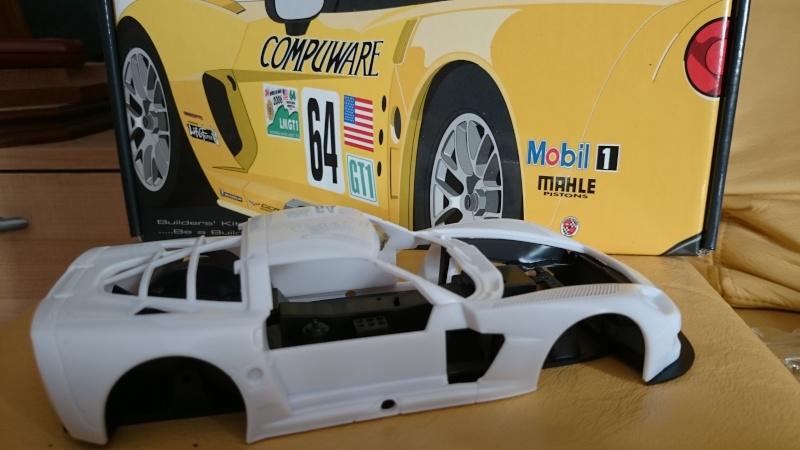 CORVETTE C6R COMPUWARE LE MANS 2006 LMGT1 CLASS WINNER REVELL ET SCALE MOTORSPORTS Dsc_3313