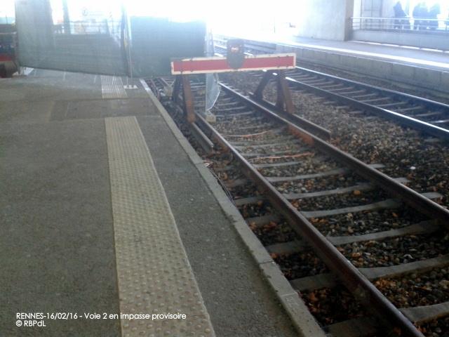 """""""Ambiance gare de Rennes  16 février 2016"""" 2016-016"""