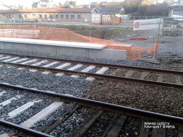 """""""Ambiance gare de Rennes  16 février 2016"""" 2016-019"""