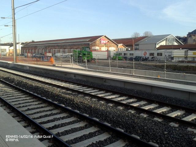 """""""Ambiance gare de Rennes  16 février 2016"""" 2016-021"""