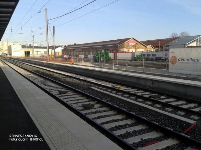 """""""Ambiance gare de Rennes  16 février 2016"""" 2016-022"""