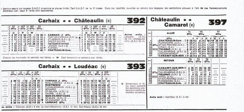 HORAIRES ETOILE DE CARHAIX (RB) 1962-1974/75 Scan-029