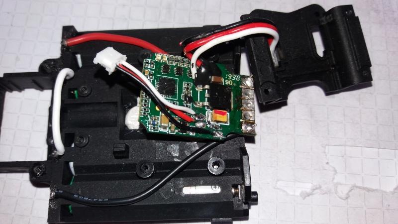 Circuit pour micro servo de Mini-Z-500804-pn racing  1110