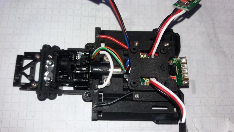 Circuit pour micro servo de Mini-Z-500804-pn racing  1210