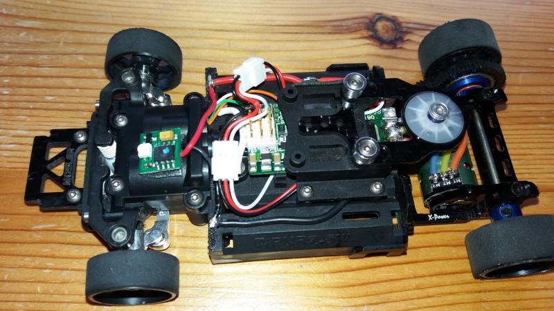 Circuit pour micro servo de Mini-Z-500804-pn racing  1510