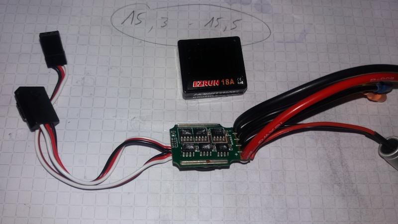 Circuit pour micro servo de Mini-Z-500804-pn racing  410