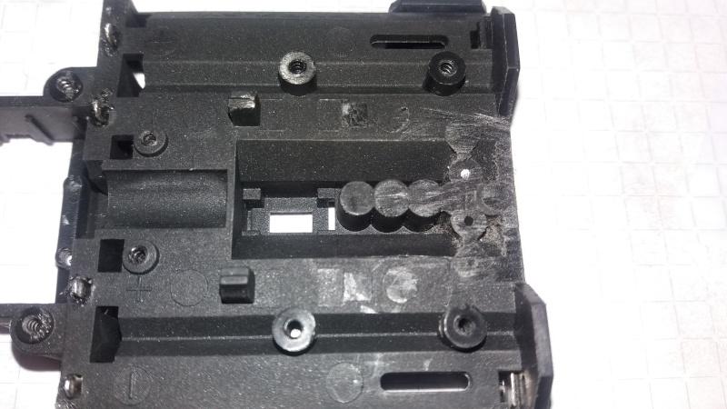 Circuit pour micro servo de Mini-Z-500804-pn racing  510