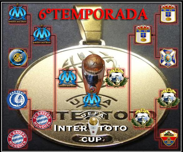 CUADRO FINAL 6ºTEMPORADA Campeo12